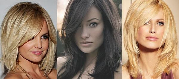 Стрижки на длинные волосы 2017 женские квадратное лицо