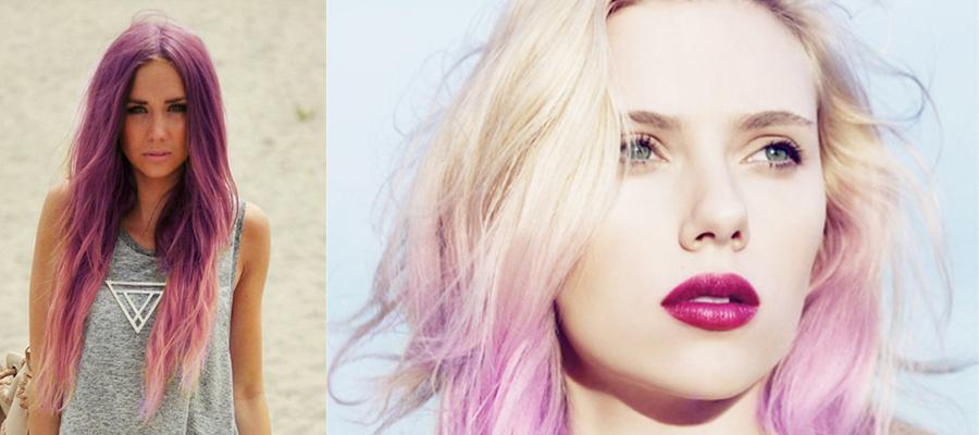 Как сделать розовый цвет волос 212