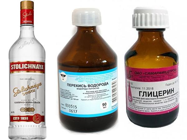 Как сделать антисептик из водки